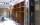 Regalschrank offen mit zwei Säulen aus Glass